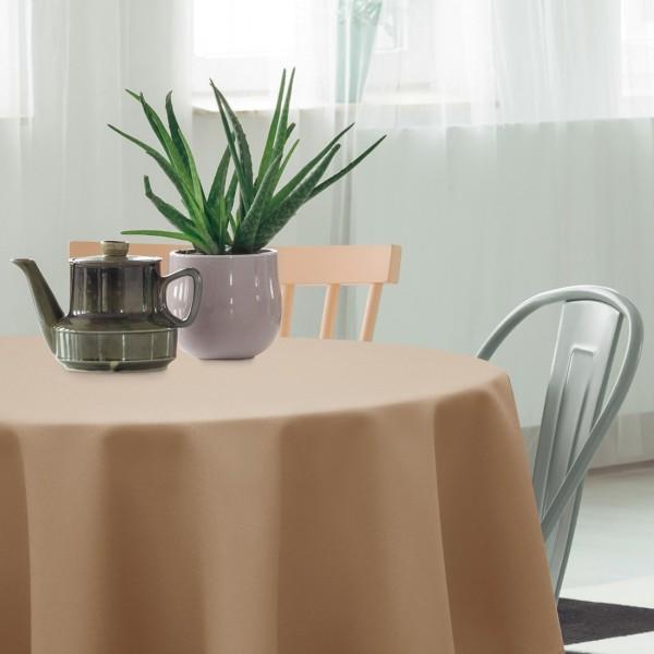 Zasłona gotowa SUNSET 404-07 terakota