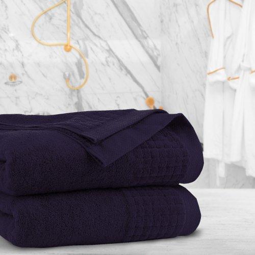 Ręcznik frotte PAOLO 50x90 323-168 bakłażan