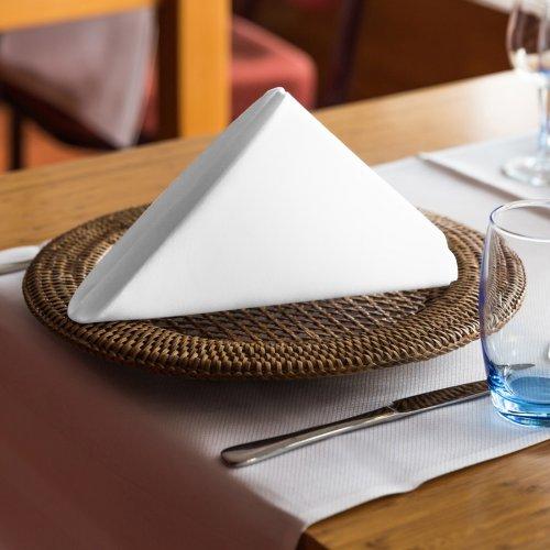 Ekskluzywna serwetka bankietowa 411-01 biała