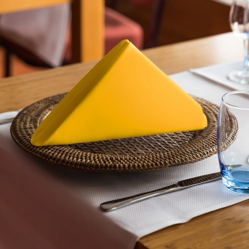 Ekskluzywna serwetka bankietowa 411-05 żółta