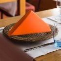Ekskluzywna serwetka bankietowa 411-06 pomarańcz