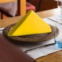 Ekskluzywna serwetka bankietowa 411-44 żółty pastel