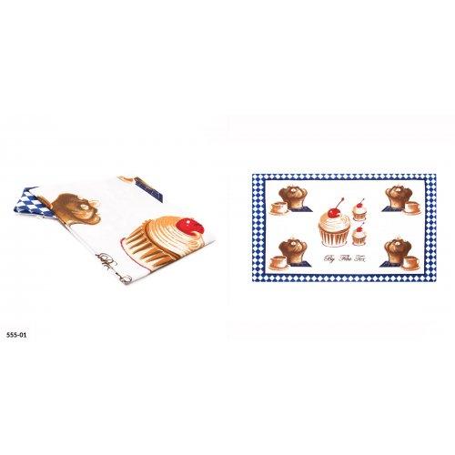 OUTLET Bawełniana ściereczka kuchenna BABECZKA 37x60 cm 555