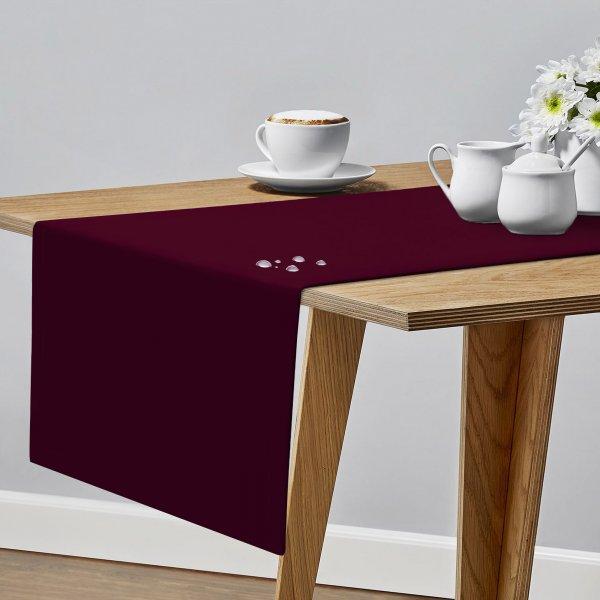 OUTLET Bieżnik plamoodporny na stół PROFESSIONAL GS 160-13 bordo