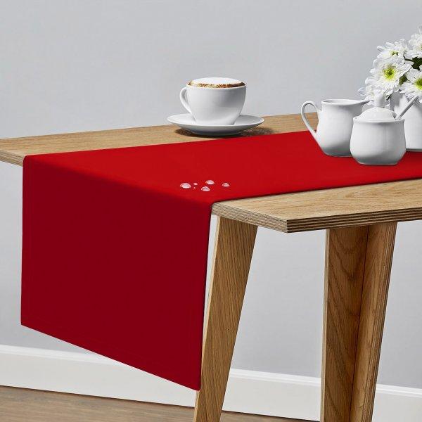 Bieżnik plamoodporny na stół PROFESSIONAL GS 160-12 czerwony
