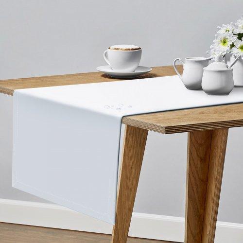 OUTLET Bieżnik plamoodporny na stół PROFESSIONAL GS 160-01 biały