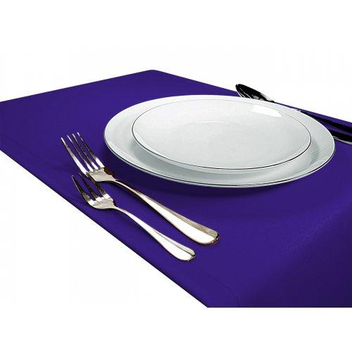 OUTLET Bieżnik na stół GŁADKI STANDARD 404-18 fiolet
