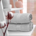 Ręcznik frotte KOMFORT 50x100 566-31 szary jasny