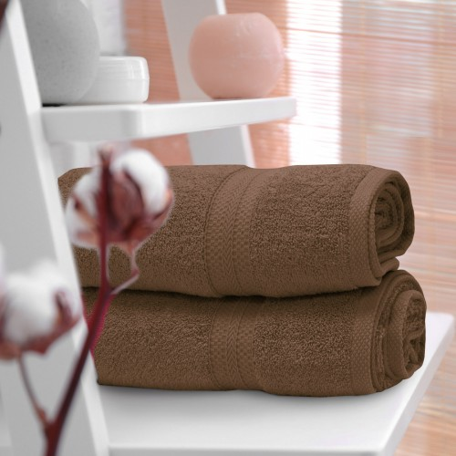 Ręcznik frotte KOMFORT 50x100 566-58 mocca