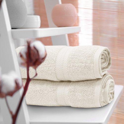 Ręcznik frotte KOMFORT 70x140 566-02 ecru