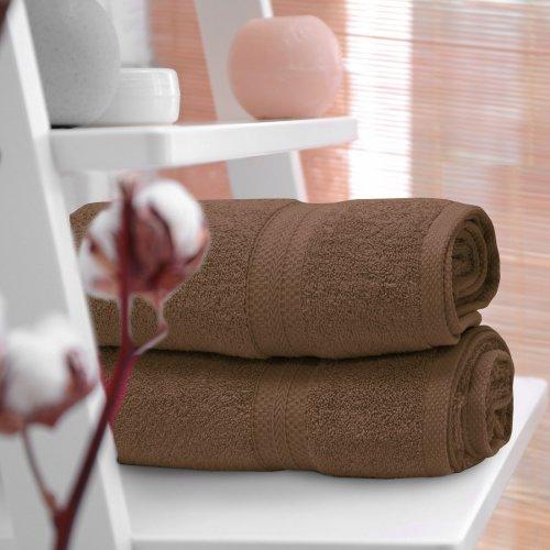 Ręcznik frotte KOMFORT 70x140 566-58 mocca