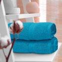 Ręcznik frotte KOMFORT 70x140 566-91 turkus jasny