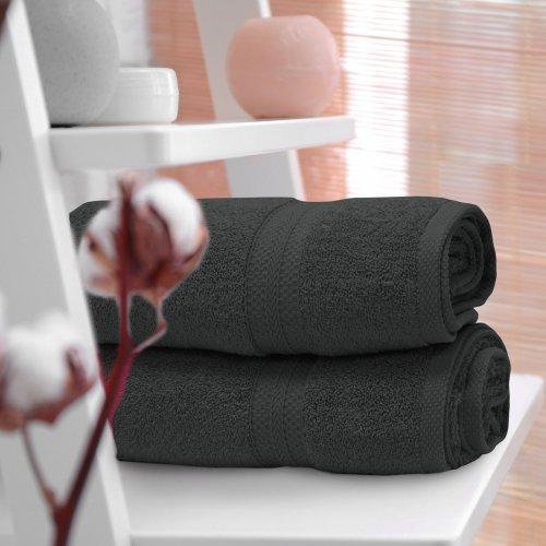 Ręcznik frotte KOMFORT 70x140 566-94 grafitowy