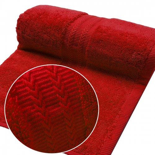 Ręcznik FROTTE EXCELLENCE 50x100 333-12 czerwony