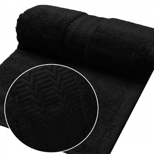 Ręcznik FROTTE EXCELLENCE 50x100 333-34 czarny