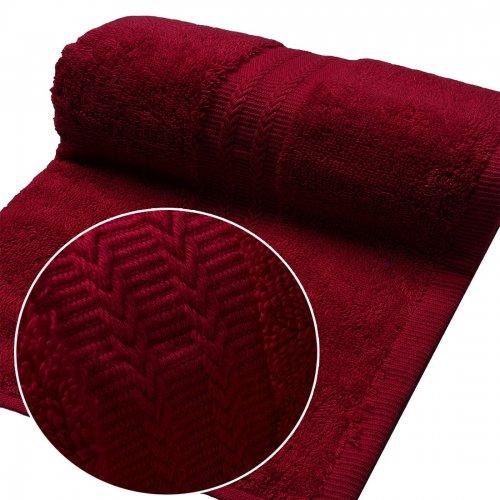 Ręcznik FROTTE EXCELLENCE 70x140 333-13 bordo