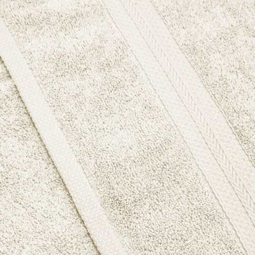Komplet ręczników frotte KOMFORT 3 szt. 50x100 + 1 szt. 70x140 566-02 ecru