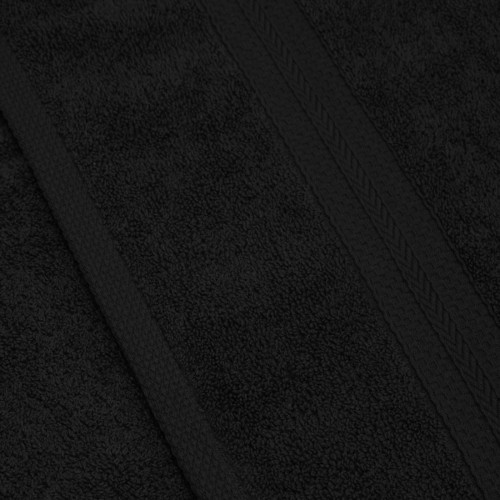 Komplet ręczników frotte KOMFORT 2 szt. 50x100 566-34 czarny