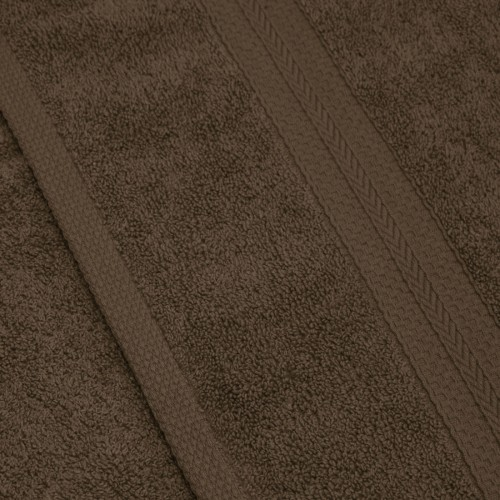 Komplet ręczników frotte KOMFORT 2 szt. 70x140 + 2 szt. 50x100 566-58 mocca