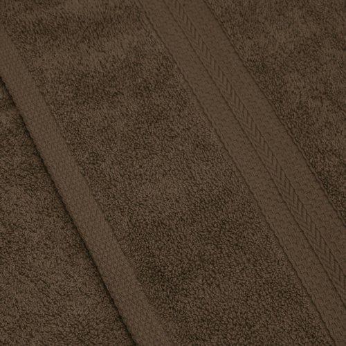 Komplet ręczników frotte KOMFORT 4 szt. 50x100 566-58 mocca