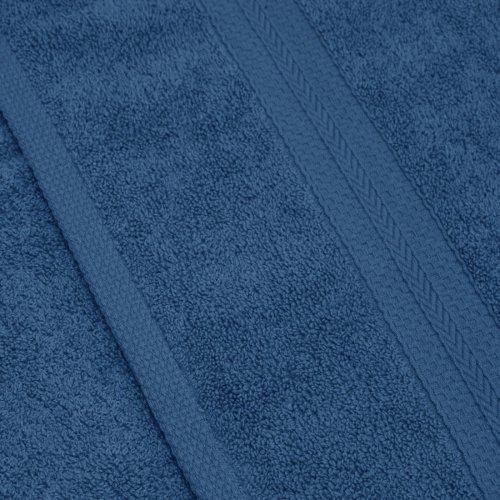 Komplet ręczników frotte KOMFORT 2 szt. 70x140 + 2 szt. 50x100 566-92 turkus ciemny