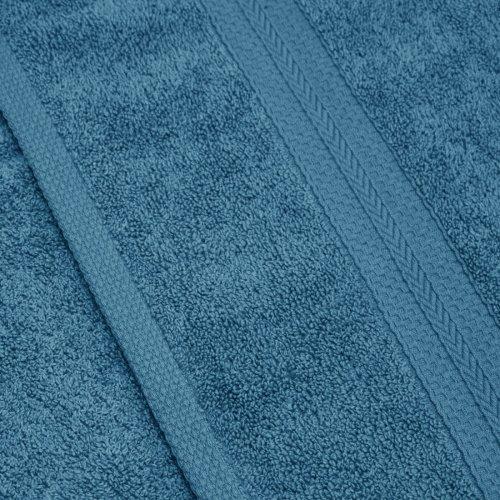 Komplet ręczników frotte KOMFORT 2 szt. 50x100 566-92 turkus ciemny