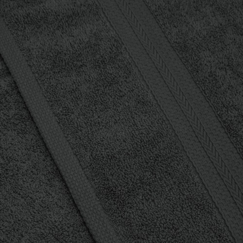Komplet ręczników frotte KOMFORT 2 szt. 70x140 + 2 szt. 50x100 566-94 grafit