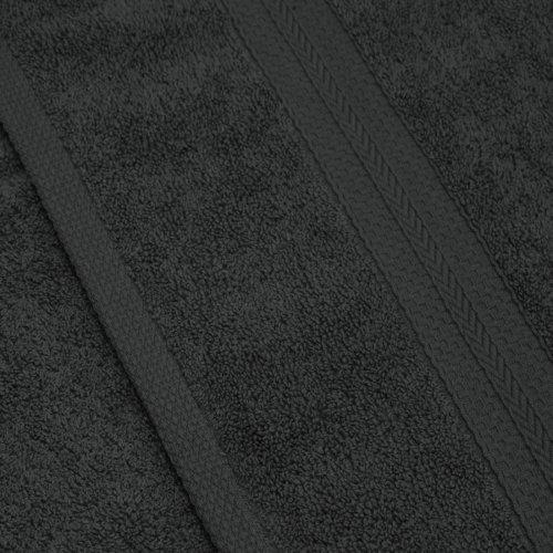 Komplet ręczników frotte KOMFORT 2 szt. 50x100 566-94 grafit
