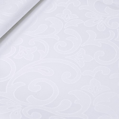 OUTLET Obrus JACQUARD 118-01 biały
