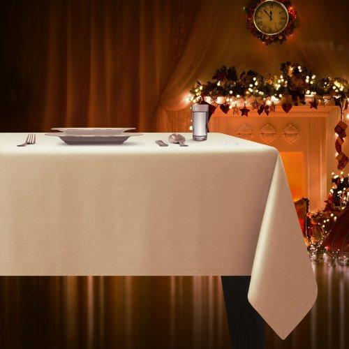 Obrus plamoodporny ELEGANCE 400-55 szampański jasny