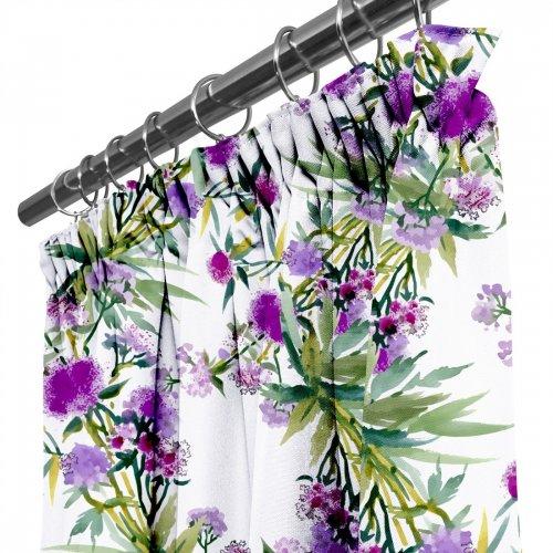 Zasłona gotowa na przelotkach D404-114-01 Polne Kwiaty