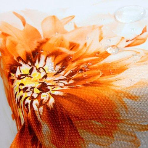 Obrus ASTER FLOWER 620-03 pomarańczowy