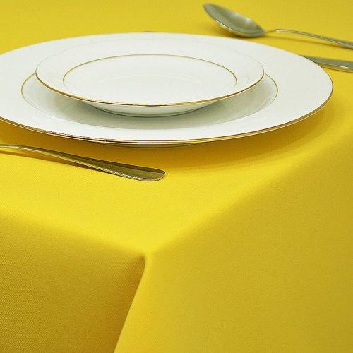 OUTLET Obrus GŁADKI STANDARD 404-05 żółty