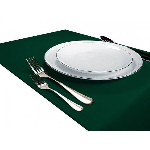 OUTLET Bieżnik na stół GŁADKI STANDARD 404-46 zielony mocny