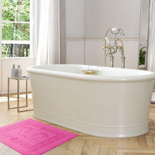 Dywanik łazienkowy ANTYPOŚLIZGOWY 50x70 210-11 róż mocny