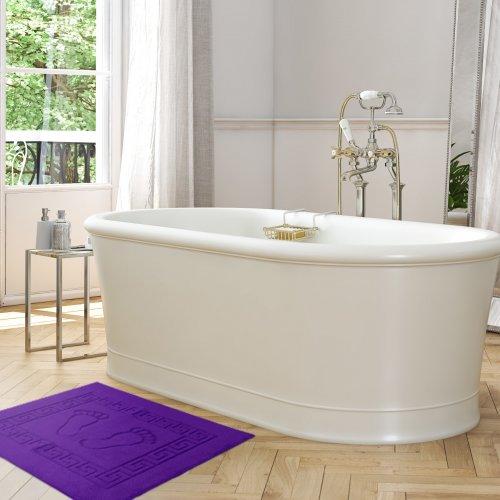 Dywanik łazienkowy ANTYPOŚLIZGOWY 50x70 210-54 śliwka