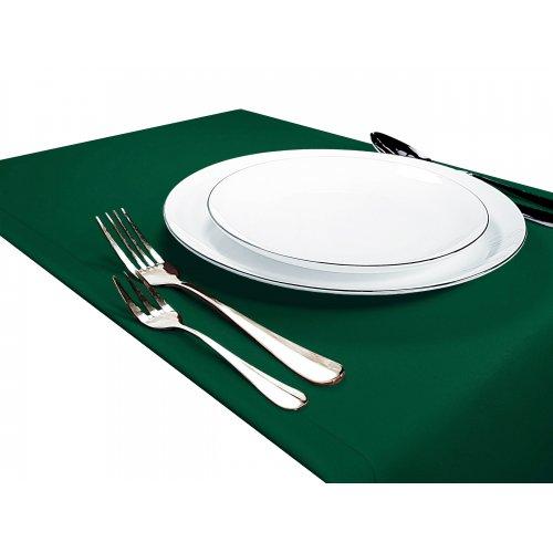 Bieżnik na stół GŁADKI STANDARD 404-46 zielony mocny