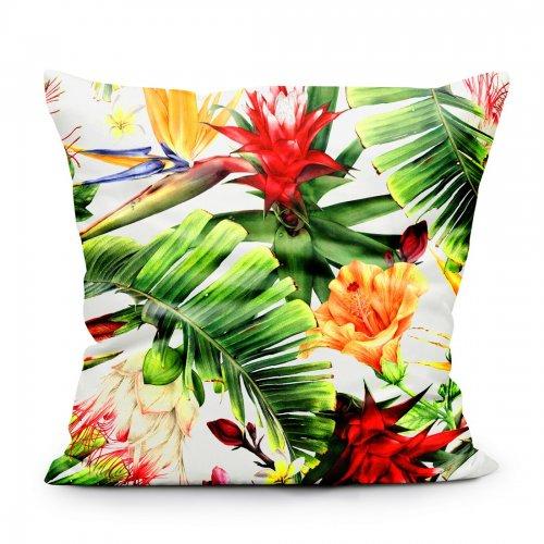 Zdjęcia nagłówek - Poszewka dekoracyjna z drukowanej tkaniny egzotyczny wzór