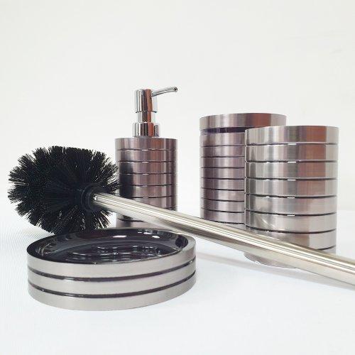 Zestaw Akcesoriów Łazienkowych Komplet 4 elementów