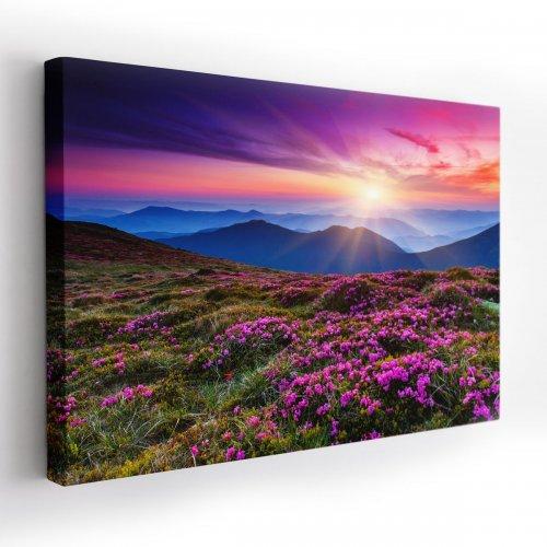 Obraz na płótnie CANVAS 120x80 A100 Góry