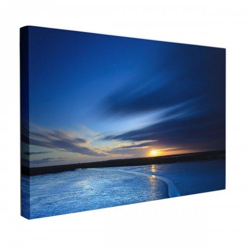 Obraz na płótnie CANVAS 120x80 A133 Jezioro
