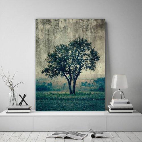 Obraz na płótnie CANVAS 60x80 B100 Drzewo