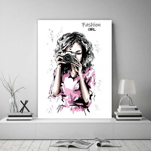 Obraz na płótnie CANVAS 60x80 B131 Fashion girl