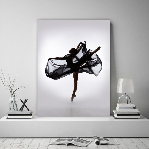Obraz na płótnie CANVAS 60x80 B132 Baletnica