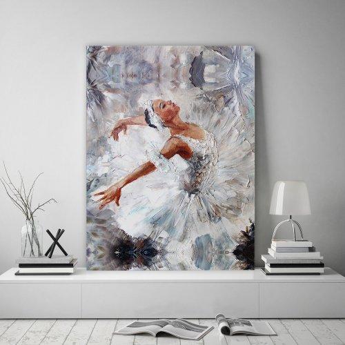 Obraz na płótnie CANVAS 60x80 B159 Baletnica