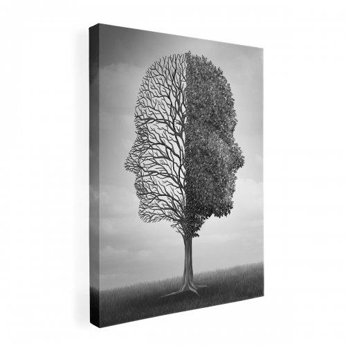 Obraz na płótnie CANVAS 60x80 B182 Drzewo