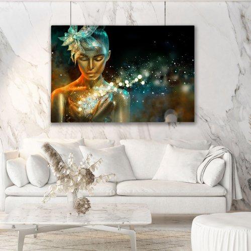 Obraz na płótnie CANVAS 120x80 A160 Magiczna kobieta