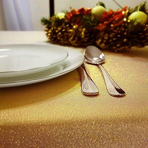 Obrus CHRISTMAS GOLD 458-63 złoty