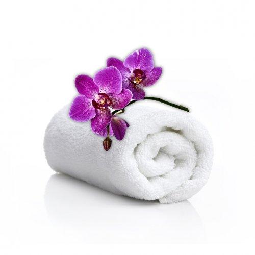 Ręcznik kąpielowy SPA 50x100 biały 550GSM