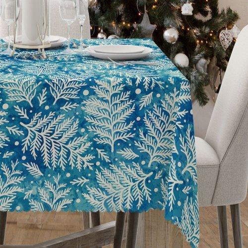 Obrus świąteczny na stół D549-774-01wp zima